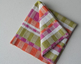 Small Handwoven  Hand Towels