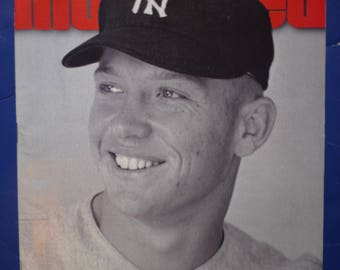 1995 Yankees Mickey Mantle Sports illustrated magazine / Story of The Mick baseball life