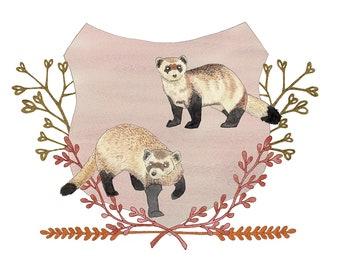 Black-Footed Ferrets print