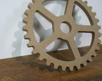 Wooden 16.5 cm - sprocket gear