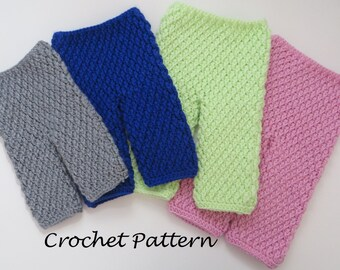 Crochet baby pants etsy crochet pattern textured pants for baby boy or girl 4 sizes newborn through dt1010fo