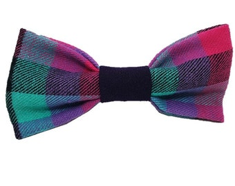 Parker plaid dog bow-tie Wedding rustic dapper Preppy hipster gifts for dogs