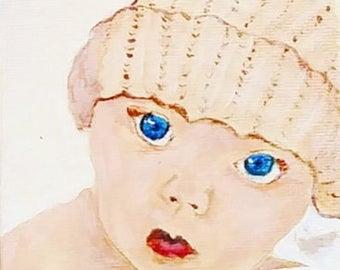Little Boy Blue  --Original Art