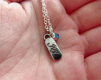 "LOVE|JOY|BELIEVE Necklace 18"""