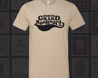 North Grand Blvd - STL City Shirt from Benton Park Prints