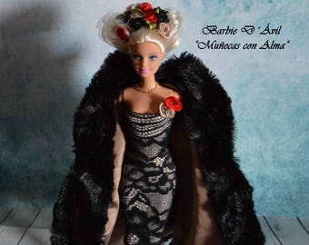 "Barbie Ooak ""Desir"" of the Collection ""Dolls with Soul"""