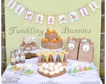 Bunny Party  - Tumbling Bunnies