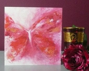 Rosa ~ Square Greeting Card