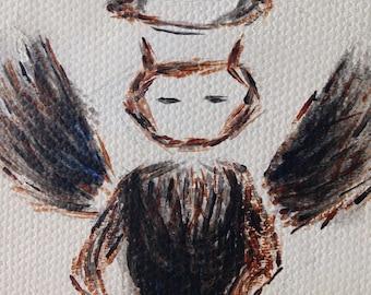 Dark Angel Poem