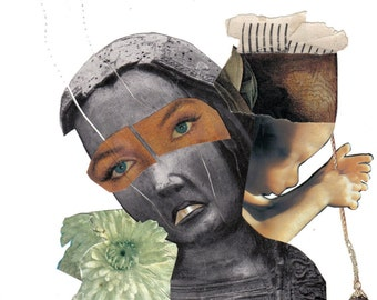 The Annunciation....Collage