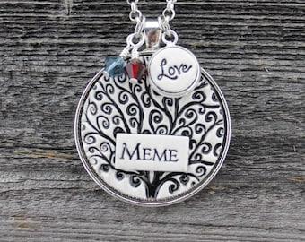 Meme Handmade Pottery Pendant