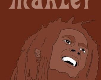 Bob Marley Mini Art Print