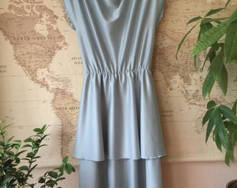 1970s/1980s Light Blue Dress