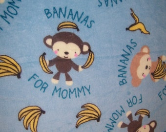 Bananas for Mommy Ultra Cuddle Blanket