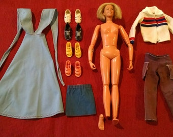 Kenner Bionic Woman Jaime Sommers Doll with Shoes & Clothes