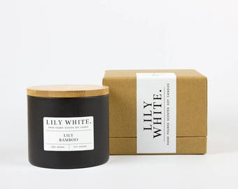 Lily + Bamboo Candle (385 g)