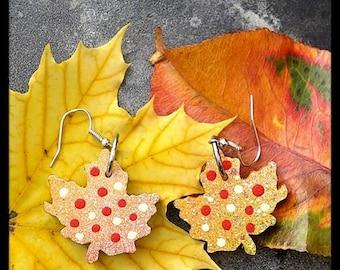 Truly Canadian Maple Leaf Earrings