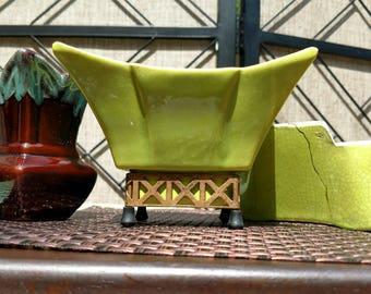 Vintage Chartruese Pottery