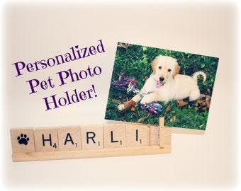 Pet Photo, Pet Frame, Pet Memorial, Dog Photo, Cat Photo, Personalized Pet Frame, Custom Pet Frame, Memorial Gift, Photo Holder, Dog Picture