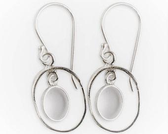 Tianyi - Womens Sterling Silver Earrings boho earring, boho earrings, bohemian earrings, designer earrings, silver earrings 1139