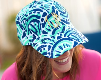 Monogrammed Make Waves Cap - Preppy and cute...