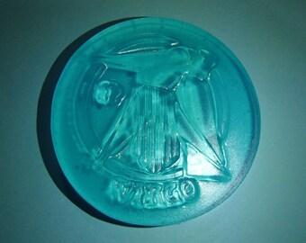 Blue Virgo Sign Glycerin Soap