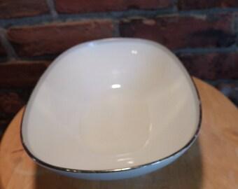 Noritake China Vegetable Bowl Graytone Pattern 6257, Vegetable bowl, 1960's bowl