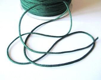 5 m 1.5 mm dark green nylon string
