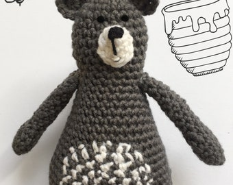 Bear Amigurumi / Crochet Pattern