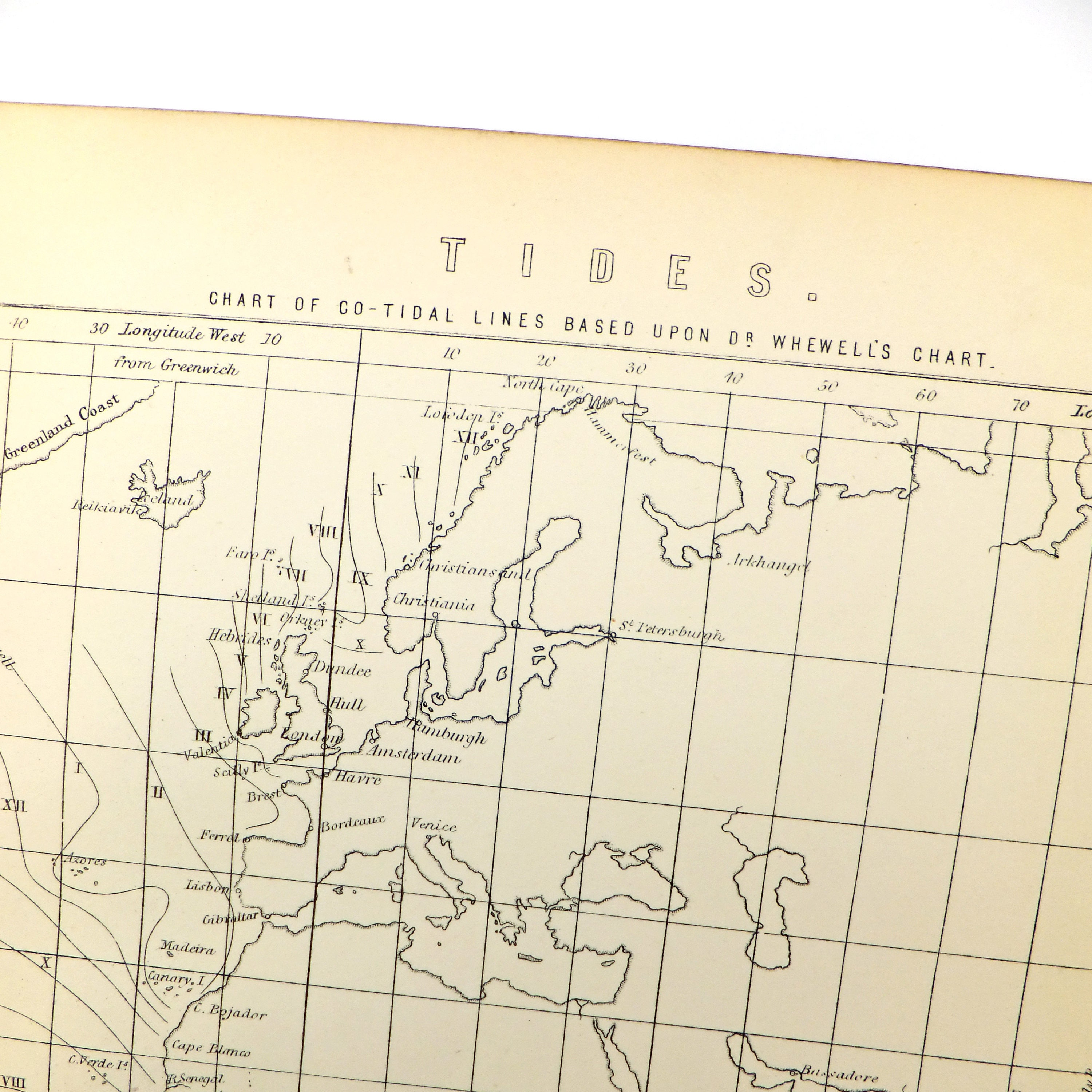 Tides coast sea tidal map black and white print tidal zoom geenschuldenfo Images