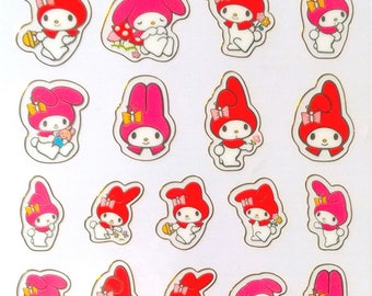 My Melody stickre from Japan