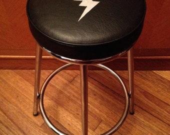 TCB/Elvis design vintage step stool
