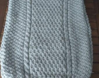 Gray Turtleneck tunic sweater