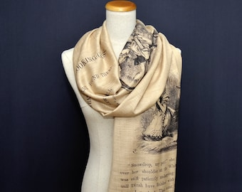 Alice Through the Looking-Glass Shawl Scarf
