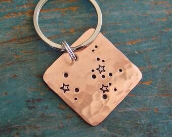 Sagittarius Constellation Keychain, Zodiac Gift, Zodiac Key Chain, Star Sign, Astrology,Sagittarius Gift,November Birthday,December Birthday