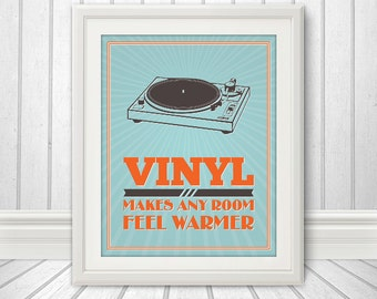 Vinyl Makes Any Room Feel Warmer