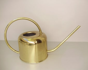 Vintage copper watering pot/can,Modern Midcentury Home Decor