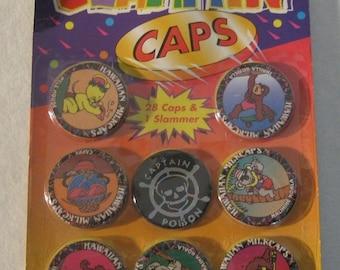 Vintage Trading Card Game , Pog Game , Animal Trading Card Game , Milk Cap Game , Hawaiian Cap Game , NOS