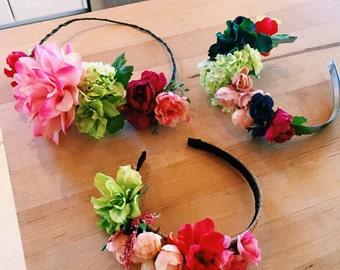 Custom Flower Crowns (half)