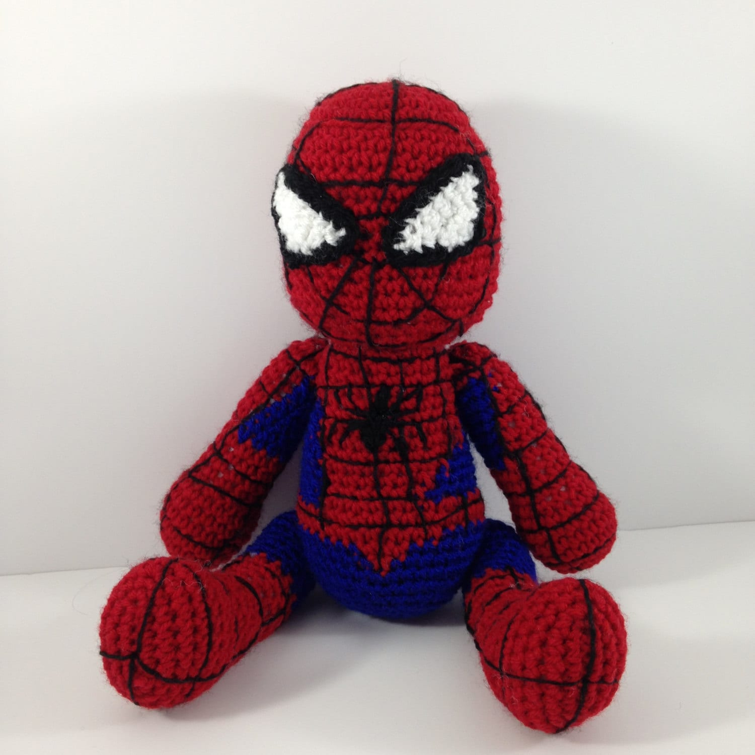 Spiderman Crochet Amigurumi Doll