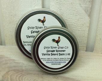 Savage Rooster, Vanilla Beard Balm
