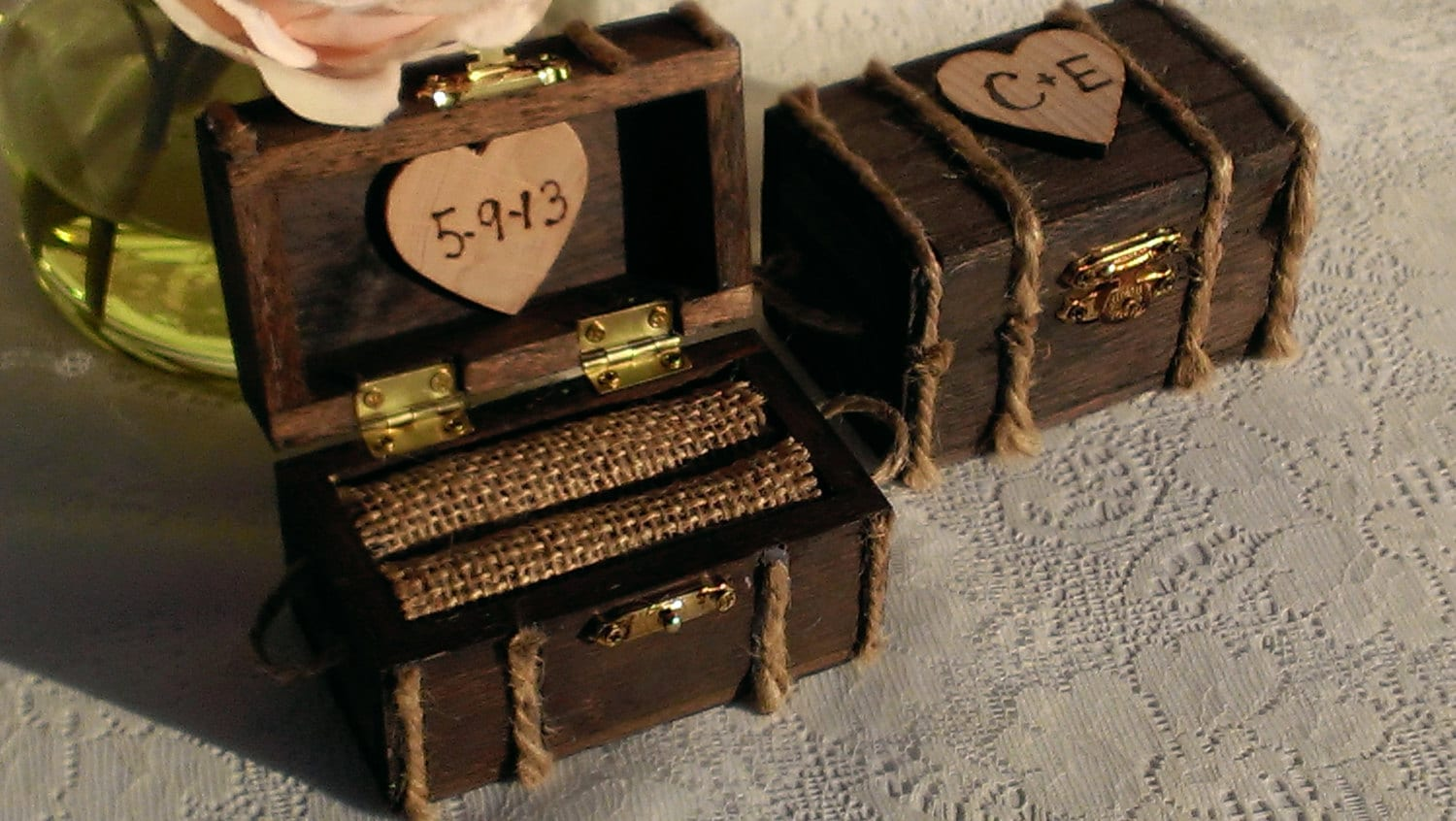 zoom - Wedding Ring Boxes