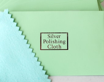 Jewelry Polishing Cloth 4.25 x 2.75 inches