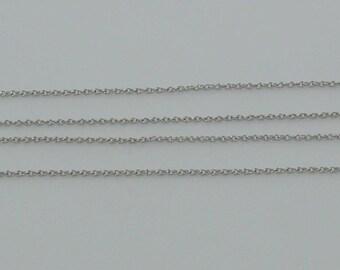 3 m chain link twist 3x2.3mm Nickle matte - ref: CHA 222