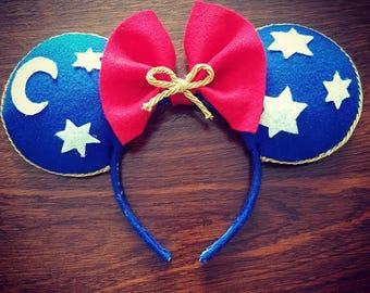 Sorcerer Mickey themed ears