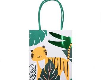 Go Wild Jungle Party Bags, Favour Bags, Jungle Party Theme
