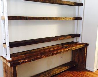 Bookshelves/Bookcase/industrial shelving/Office Furniture/book shelves/Wood Bookshelves/wall shelf/shelves/book shelf/shelf