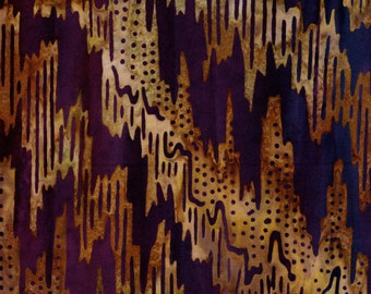 Kaufman Bali Batik Ikat 14987 205 Multi Dotted Waves By The Yard