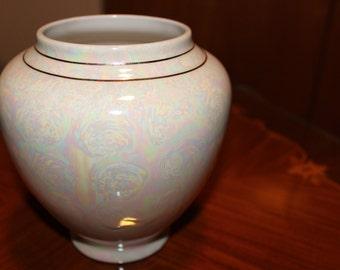 Vintage porcelain vase