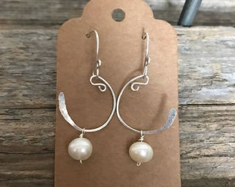 15% OFF - Fresh Water Pearl - Sterling Silver Wire & Ear Wires